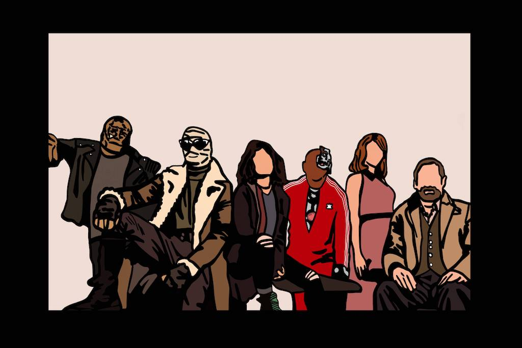Doom Patrol Season Two and HBO Max:Nobody is to be Seen (you'd get that if you've watched the show)